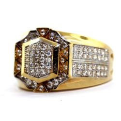 Zirconia Gold Ring