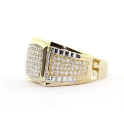 Zirconia Gold Ring