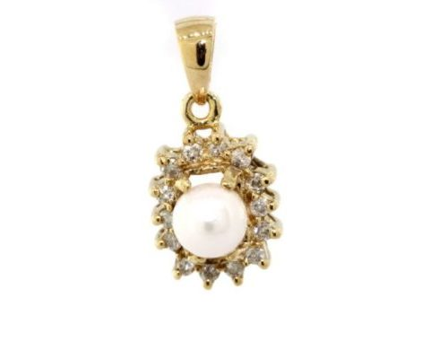 Pearl Gold Pendant