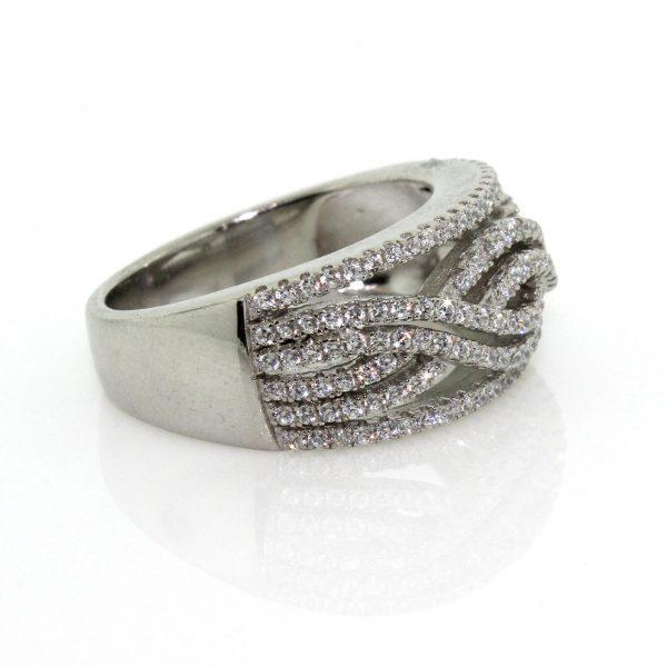 Zirconia Silver Ring