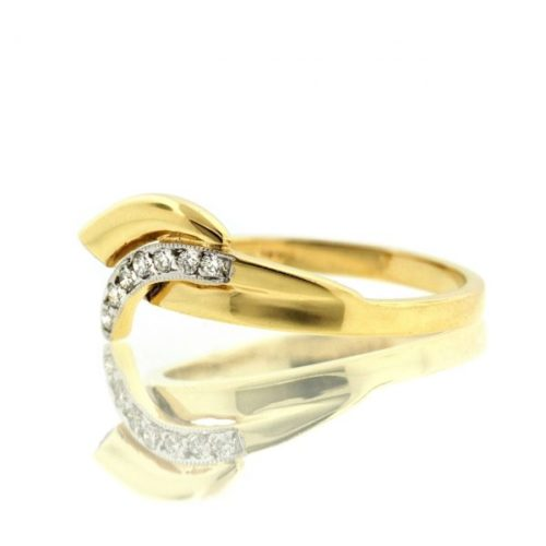 Diamond gold ring 0O001A2319_02