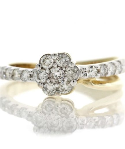 Diamond gold ring GO001A5669_01