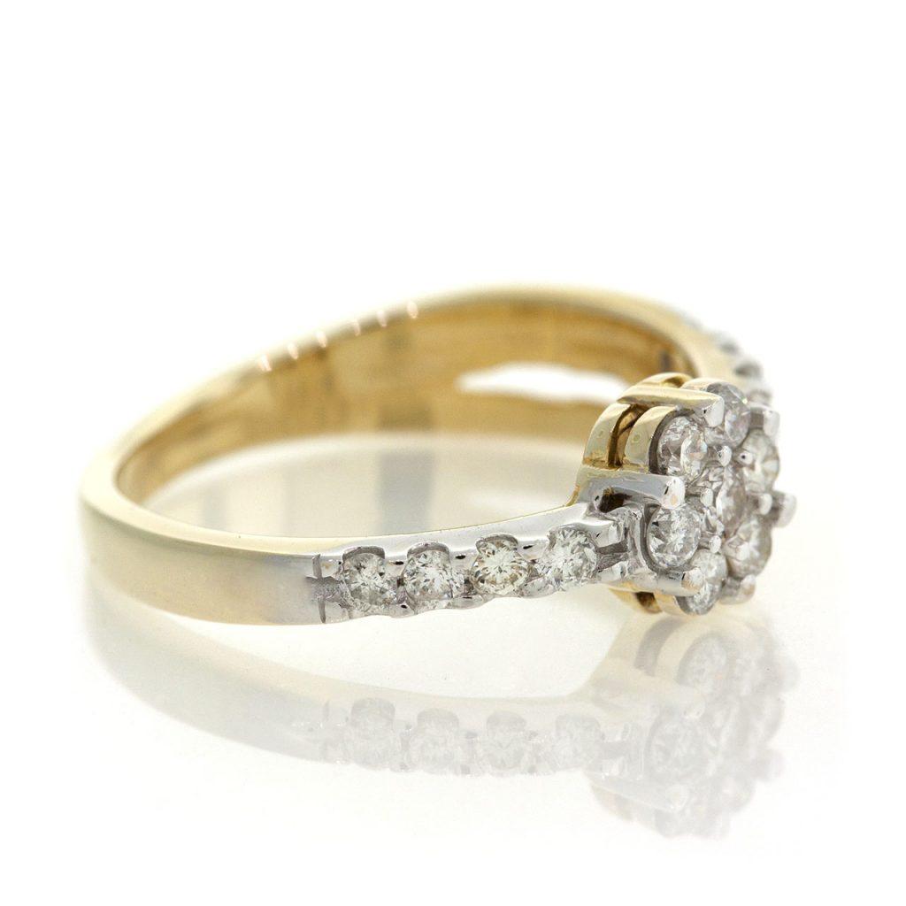 Diamond gold ring GO001A5669_02