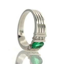 Emerald Gold Ring