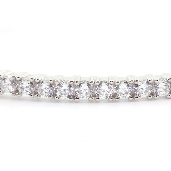 Zirconia Silver Bracelet