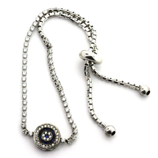 Sapphire Silver Bracelet