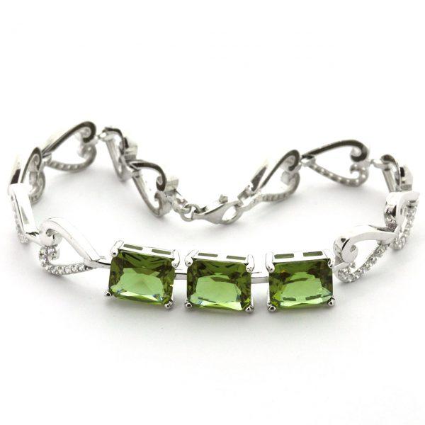 Zultanite Silver Bracelet