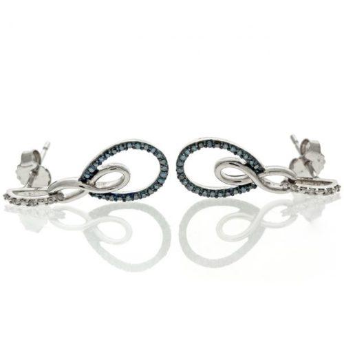 Diamond Gold Earrings 6O001B2419_02