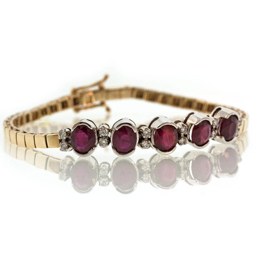 Ruby Gold Bracelet TO001F29844_01