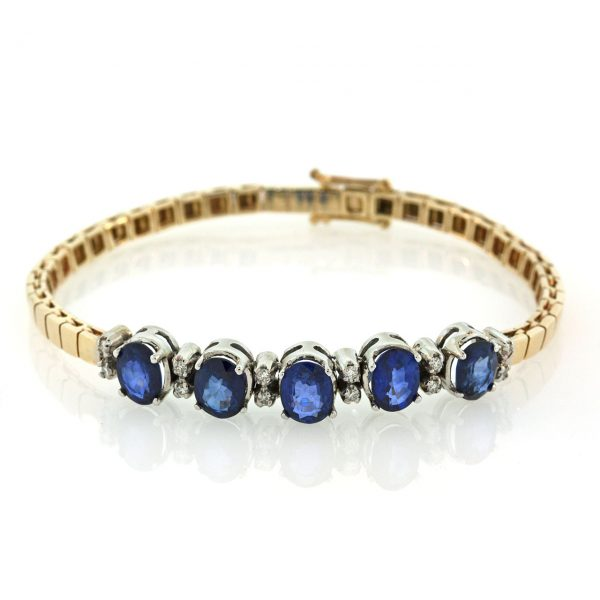 Sapphire Silver Bracelet TO001F29744_02